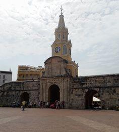 La Torre del Reloj en Cartagena de Indias