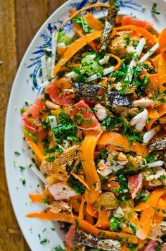 Marmita: Salada de quinoa e salmão