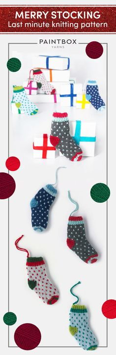 Looking for a last minute pattern to add a crafty touch to your Holiday celebrations?! Find this FREE Paintbox stocking pattern at LoveKnitting.Com!