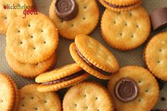 Last Minute Treats and Handmade Gifts - Rolos and Ritz Crackers