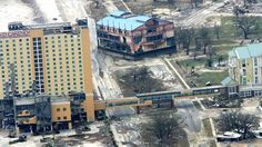 Hurricane Katrina. Gulfport, Mississippi sad but it has been restored now its back to being its amazing city
