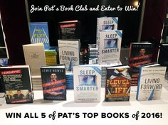 Join Pat's Book Club & Win All of Pat's Favorite Books of 2016!