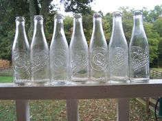 Set of Seven Vintage Dr. Pepper Soda $99 for set