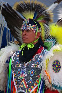 Native American dancers performing in the International District. Native American Regalia, Native American Beauty, Native American Photos, Native American Beadwork, American Spirit, American Indian Art, Native American History, Festivals, We Are The World