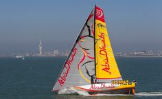 Abu Dhabi Ocean Race Volvo Ocean Race, The World Race, Race Day, Timeline Photos, Abu Dhabi, Sailing, Wordpress, Yellow, Sailing Ships