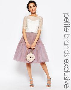 Image 1 ofTrue Decadence Petite Tulle Skirt