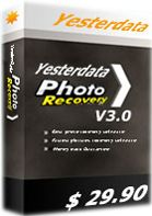 40% Off - Yesterdata Photo Recovery Discount Coupon Code. Retrieves pictures and photos from HDD drives, USB digital media and all memory cards, from most of all camera manufacturers, most of all images types.
