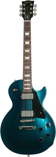 Gibson Les Paul Studio Teal Blue Candy Color Guitar!