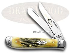 CASE XX Genuine Stag Mini Trapper : The action is smooth and the knife has a solid and expensive feel. I have plenty of technicals, but I carry this in honor of my great granddad and the folders he carried. I bought it when my youngest nephew was born. (Being from a west Texas family, a man needs a good blade. Not as a weapon, but as a tool--even if it's primary employment is against shipping tape on boxes.)