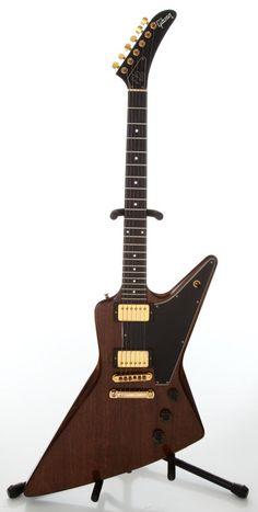 1979 Gibson E2 Explorer Natural Electric Guitar