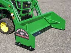 Image result for compact tractor snow pusher