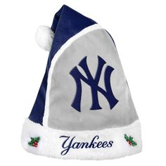 Forever Collectibles New York Yankees 2015 MLB Santa Hat