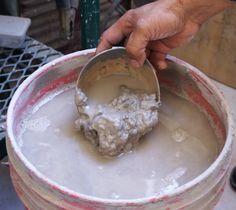 Selección del material How To Make Ceramic, Pasta Piedra, Clay Baby, Mold Making, Ceramic Painting, Glaze, Pottery, Ceramics, Food