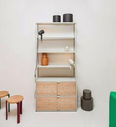 New Order hylly Cupboard Shelves, Cupboards, Cabinets, Regal Design, Closet Space, Ladder Bookcase, Closet Storage, Cabinet Design, Interior Inspiration