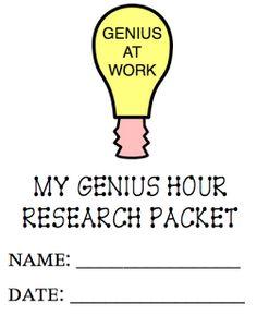 genius hour in second grade