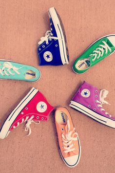 Converse Chuck Taylor All Star High Top Sneaker I have 4 pairs of chucks witch aren't any of these colors !  i must invest in a new pair !