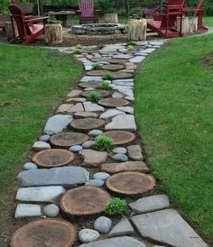 Garden Types, Garden Paths, Gravel Garden, Amazing Gardens, Beautiful Gardens, Landscape Design, Garden Design, Natural Garden, Easy Garden