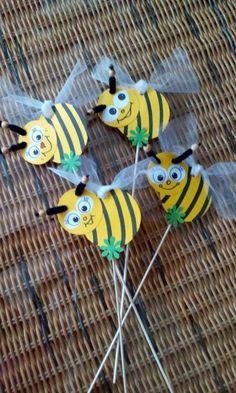 zápich - včelky - křádla z organzy
