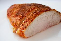Roasted Turkey Breast - think i'll make this healthy bird for Easter