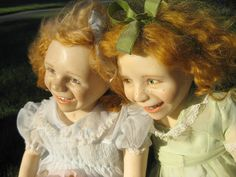 Dolls - 2 Naughty Sisters 178 by badhesterprynne, via Flickr