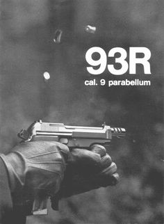www.berettaweb.com > Automatic pistol   for single shot fire or in controlled bursts of three rounds.