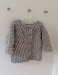 Baby Children sweater hand knitted from pure soft and eco-certificated wool. For sale at etsy Baby Children sweater hand knitted from pure soft and eco-certificated wool. For sale at etsy Knitting Baby Girl, Baby Cardigan Knitting Pattern, Knitted Baby Cardigan, Knitted Baby Clothes, Knitting For Kids, Hand Knitting, Boy Crochet Patterns, Baby Patterns, Winter Baby Clothes