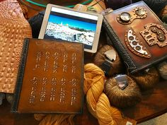 Designed by Wilson #Steampunk #leather #journal - #steel #leather #brass #book covers #ipad cover