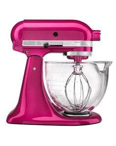 KitchenAid Stand Mixer, Artisan 5-Quart  A classic piece of kitchen equipment, this mixer is indispensable and versatile -- with help from attachments it goes from mixer to pasta maker to ice cream machine in a snap. It's one of Sophistimom blogger Jaime Mormann's can't-live-without appliances for its versatility. amazon.com
