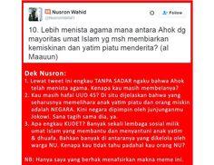 Nusron Wahid Bela Ahok dan Sudutkan Umat Islam Meme Ini Mematahkannya