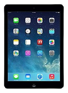 Apple iPad Air MD785LL/B 9.7-Inch 16GB Wi-Fi Tablet (Black with Space Gray)