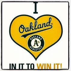 Lets go Oakland!!!!! Oakland athletics