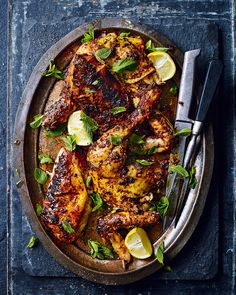 Dare to be different for your next Sunday roast and try your hand at this spicy Portuguese chicken recipe – it& easy, yet oh-so-satisfying. Portuguese Chicken Recipes, Roast Chicken Recipes, Portuguese Food, Francis Mallman, Cooking Recipes, Healthy Recipes, Game Recipes, Tandoori Chicken, Rotisserie Chicken