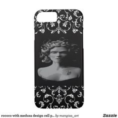 rococo with medusa design cell phone case/cover
