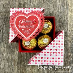 , Today's project is a diagonal-lidded gift box featuring the From The Heart Pro. , Today's project is a diagonal-lidded gift box featuring the From The Heart Product Suite! Here's a different angle: Here's a closer look: Here's how t. Valentines Day Hearts Candy, Valentine Day Crafts, Closer, Stampin Up, Diy And Crafts, Paper Crafts, Yarn Crafts, Staff Gifts, Creative Box
