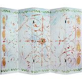 "Found it at Wayfair - 60"" x 78.5"" Winter's Peace 5 Panel Room Divider"