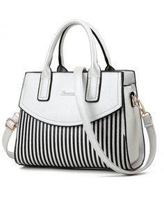 1f812dfdb48e Women Satchel PU Leather Purse Crossbody Bag Top-handle Messenger Tote  Shoulder Bag Ladies Bags - Silver - C317XHU565O