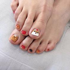 ไอเดียเพ้นท์เล็บเท้าสดใส ดูเซ็กซี่ขี้เล่นแบบสาวเกาหลี IG ddowa_nail Swag Nails, Toe Nails, Nail Polish, Nail Art, Korean, Templates, Feet Nails, Nail Swag, Toenails