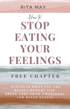 How to stop eating your feelings workbook free chapter to discover what you are really hungry for and break free from habitual overeating, emotional eating and binge eating. Holistic Nutrition, Health And Wellness, Health Tips, Binge Eating, Stop Eating, Notebooks, Journals, Fitness Tips, Fitness Motivation