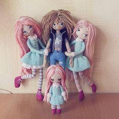 "Yulia, happy dollmaker✌ @mint.bunny ""Они окружил...Instagram photo | Websta (Webstagram)"