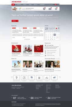Akbank web - home with storytelling