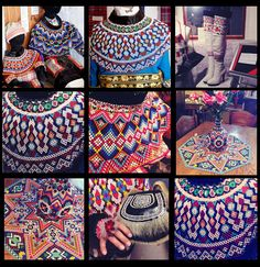 Greenlandic national suit Inuit People, Tribal Dress, Wedding Costumes, Beaded Collar, Folk Costume, Art Plastique, Loom Beading, Festival Wear, Traditional Dresses