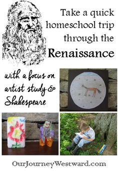 (This post contains affiliate links.) A Brief Renaissance Study Our final unit study of the year turned out to be a great one – even if it was on the lighter side of book learning. We had ju… Professor, Middle Ages History, Renaissance And Reformation, 7 Arts, Renaissance Artists, Journey, Teaching Art, Teaching Resources, Mystery Of History