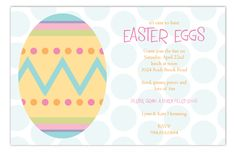 Easter Artwork Invitation #Easter