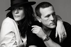 Scott Schuman & Garance Doré. There's only room for two at this Smolder Party. BOOM