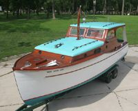 Prewar Chris-Craft Cabin Cruiser