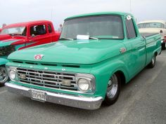 1964 Ford F-100 -want!