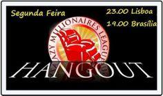 Hagout dos Lazy Millionaires ESTÁ QUASE A COMEÇAR! Não percas esta oportunidade!! Convite VIP: http://www.badasscontent.com/hangoutlazy2feira
