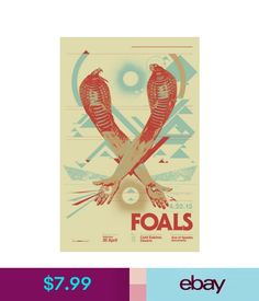 """Art Posters Mx06510 Foals - English Indie Rock Band Yannis Philippakis 14""""X22"""" Poster #ebay #Collectibles Art Posters, Rock Bands, Indie, English, Books, Ebay, Libros, Book, English Language"""