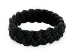 Sailor Knot Bracelet Black