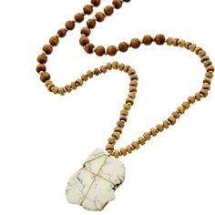 """Ivory Mala Bead Style Necklace Ivory Stone Mala Bead Style Necklace, 34"""" length. Jewelry Necklaces"""